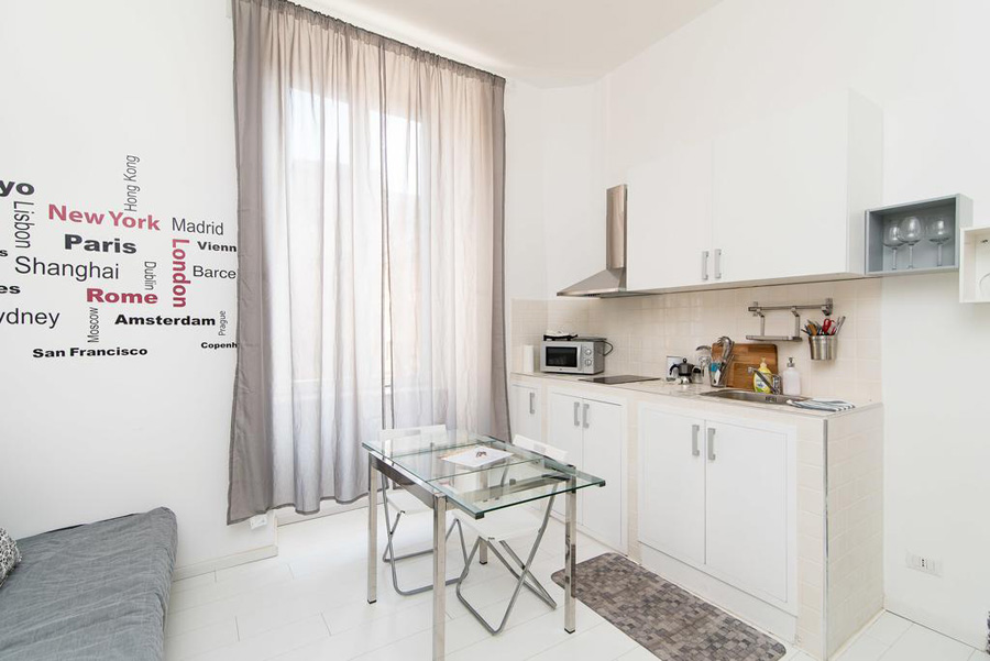 ELLE2ARCH White Ostilia Apartment